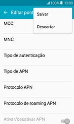 Samsung Galaxy J1 - Internet (APN) - Como configurar a internet do seu aparelho (APN Nextel) - Etapa 15