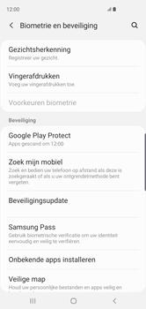 Samsung Galaxy S10 - Toestel - stel Zoek mijn mobiel in - Stap 5