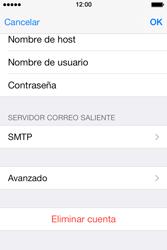 Apple iPhone 4S iOS 7 - E-mail - Configurar correo electrónico - Paso 15