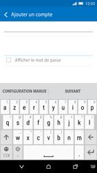 HTC One M9 - E-mail - Configuration manuelle - Étape 7