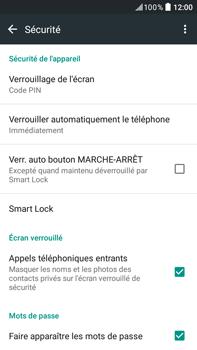 HTC Desire 825 - Sécuriser votre mobile - Activer le code de verrouillage - Étape 12