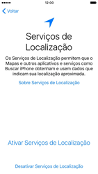 Apple iPhone 7 - iOS 10 - Primeiros passos - Como ativar seu aparelho - Etapa 9