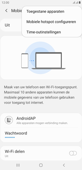 Samsung galaxy-j4-plus-dual-sim-sm-j415fn-android-pie - WiFi - Mobiele hotspot instellen - Stap 8