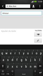 HTC One - MMS - Envoi d