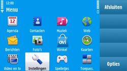 Nokia N97 - Bellen - in het buitenland - Stap 3