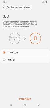 Samsung galaxy-a50-dual-sim-sm-a505fn - Contacten en data - Contacten kopiëren van SIM naar toestel - Stap 12