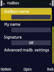 Nokia N86 - E-mail - Manual configuration - Step 20