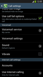 Samsung I9505 Galaxy S IV LTE - Voicemail - Manual configuration - Step 6