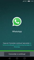 Huawei P9 Lite - Aplicações - Como configurar o WhatsApp -  5