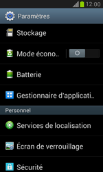 Samsung Galaxy S3 Mini - Applications - Supprimer une application - Étape 4