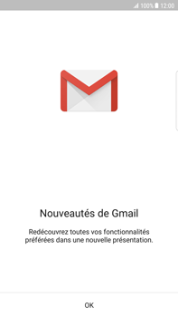 Samsung Samsung G928 Galaxy S6 Edge + (Android N) - E-mail - Configuration manuelle (gmail) - Étape 5