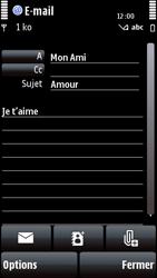 Nokia 5800 Xpress Music - E-mail - envoyer un e-mail - Étape 10