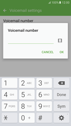 Samsung Samsung G920 Galaxy S6 (Android M) - Voicemail - Manual configuration - Step 7
