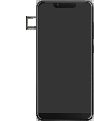 Wiko View 2 Plus - Appareil - comment insérer une carte SIM - Étape 3