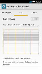 Alcatel POP C7 - Internet no telemóvel - Como ativar os dados móveis -  6