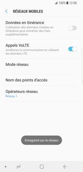 Samsung Galaxy S8 - Android Oreo - Réseau - utilisation à l'étranger - Étape 14