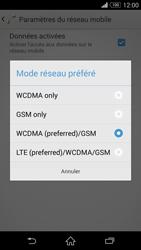 Sony Xpéria Z3 - Internet et connexion - Activer la 4G - Étape 7