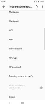Sony xperia-10-I4113 - Internet - Handmatig instellen - Stap 14