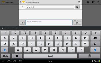Samsung N8000 Galaxy Note 10-1 - MMS - envoi d'images - Étape 8