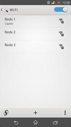 Sony Xperia M2 - Wi-Fi - Como ligar a uma rede Wi-Fi -  8