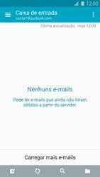 Samsung Galaxy S5 - Email - Adicionar conta de email -  10