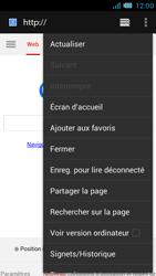 Bouygues Telecom Bs 471 - Internet et connexion - Naviguer sur internet - Étape 7