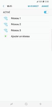 Samsung Galaxy S8 Plus - Wi-Fi - Accéder au réseau Wi-Fi - Étape 7