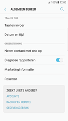 Samsung Galaxy S7 edge - Android Nougat - Device maintenance - Terugkeren naar fabrieksinstellingen - Stap 6