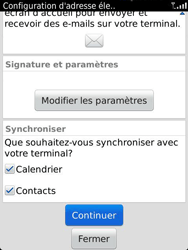 BlackBerry 9810 Torch - E-mail - Configuration manuelle - Étape 10