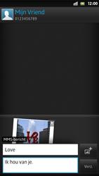 Sony LT26i Xperia S - MMS - afbeeldingen verzenden - Stap 14