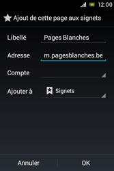 Sony ST21i Xperia Tipo - Internet - Navigation sur Internet - Étape 8