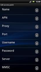 Sony Ericsson Xperia Play - Internet - Manual configuration - Step 8