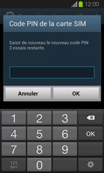 Samsung Galaxy Express - Sécuriser votre mobile - Personnaliser le code PIN de votre carte SIM - Étape 9