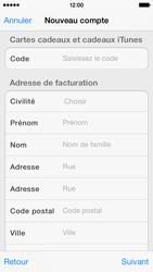 Apple iPhone 5s - Applications - Créer un compte - Étape 19