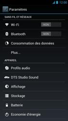 Acer Liquid S1 - Internet - Activer ou désactiver - Étape 4