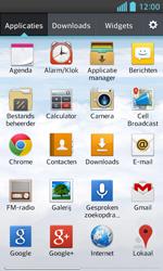LG E460 Optimus L5 II - E-mail - Handmatig instellen - Stap 4