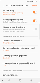 Samsung Galaxy S9 (SM-G960F) - E-mail - Instellingen KPNMail controleren - Stap 25