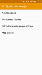 Samsung Galaxy J3 (2016) DualSim (J320) - Mensajería - Configurar el equipo para mensajes de texto - Paso 6