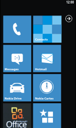 Nokia Lumia 800 - Internet - configuration automatique - Étape 1