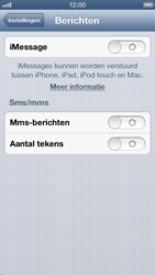 Apple iPhone 5 - MMS - Handmatig instellen - Stap 12