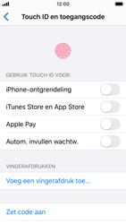 Apple iPhone SE - iOS 13 - Beveiliging - stel in of wijzig pincode voor je toestel - Stap 4