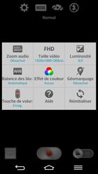 LG G2 - Photos, vidéos, musique - Créer une vidéo - Étape 6
