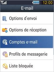 Samsung B3410 Star Qwerty - E-mail - Configuration manuelle - Étape 9