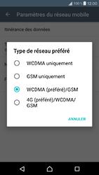 Sony Xperia X Compact (F5321) - Réseau - Changer mode réseau - Étape 7