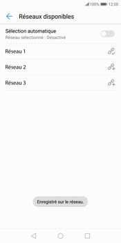 Huawei P Smart - Réseau - Sélection manuelle du réseau - Étape 12