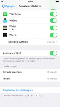 Apple Apple iPhone 6s Plus - iOS 11 - Internet - Désactiver Assistance WiFi - Étape 5