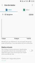 Samsung Galaxy J2 Prime - Rede móvel - Como ativar e desativar uma rede de dados - Etapa 8
