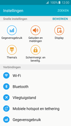Samsung G925F Galaxy S6 Edge - Internet - aan- of uitzetten - Stap 4
