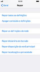 Apple iPhone SE - iOS 12 - Repor definições - Como repor definições de fábrica do telemóvel -  6