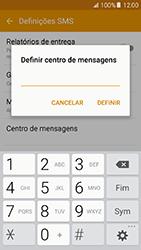 Samsung Galaxy A5 (2016) (A510F) - SMS - Como configurar o centro de mensagens -  9